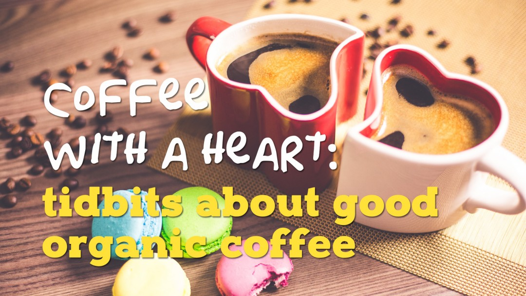 coffee with a heart