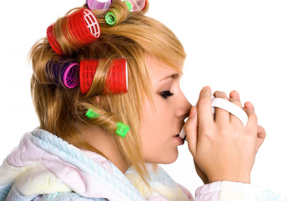 housewife-with-curlers-and-cup