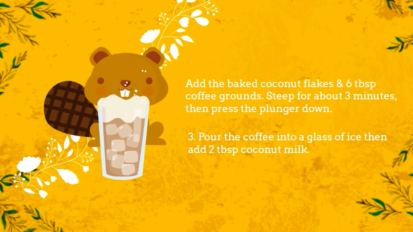 coconut iced coffee recipe