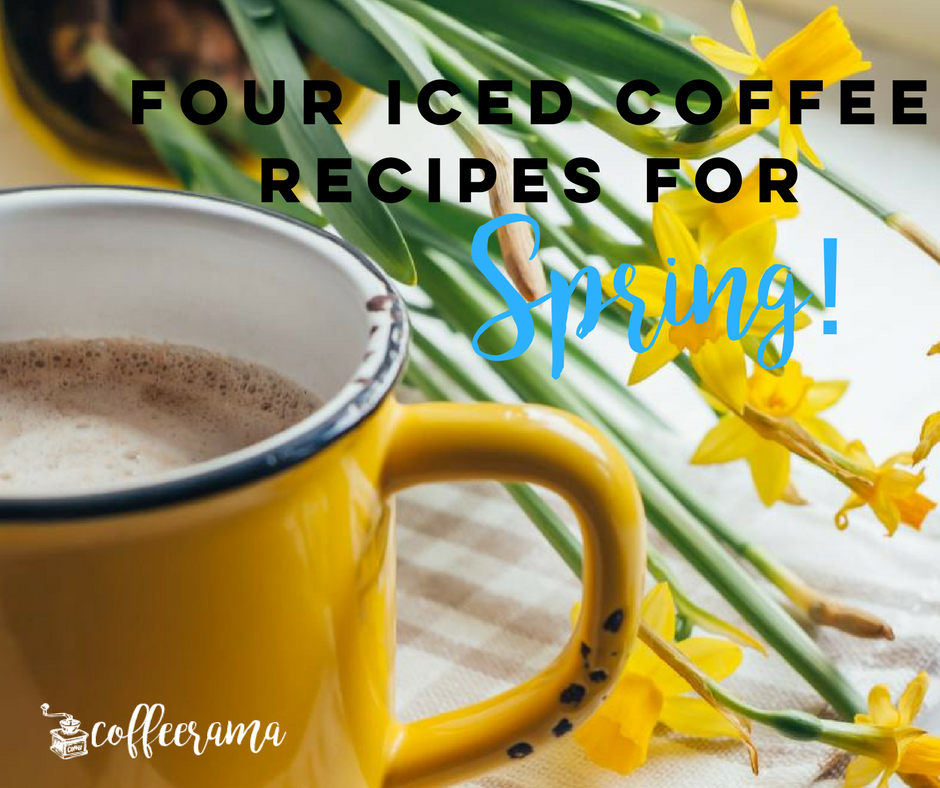 four iced coffee recipes for spring