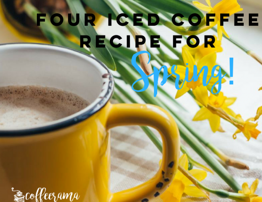 four iced coffee recipe for spring